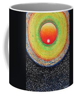 Universal Eye In Red Coffee Mug