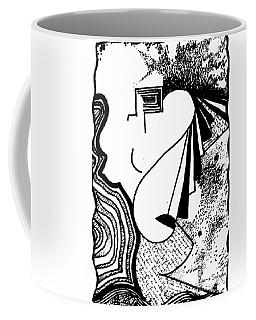 Universal Feminine In Black And White Coffee Mug
