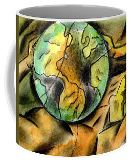 Man And The Universe  Coffee Mug