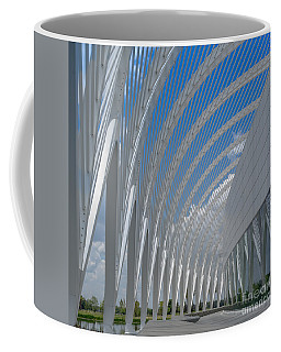University Arching Lines Coffee Mug