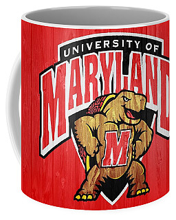 University Of Maryland Barn Door Coffee Mug
