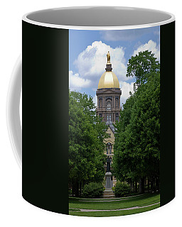 University Of Notre Dame Golden Dome Coffee Mug
