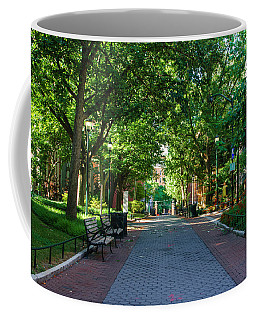 Coffee Mug featuring the photograph University Of Pennsylvania Campus - Philadelphia by Bill Cannon
