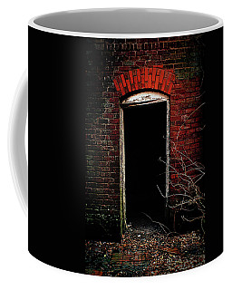 Coffee Mug featuring the photograph Unknowing by Jessica Brawley