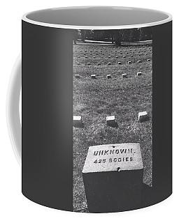 Unknown Bodies Coffee Mug