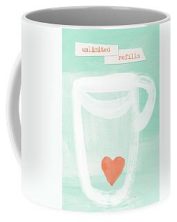 Unlimited Refills- Art By Linda Woods Coffee Mug