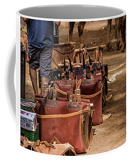 Unloading Mules At Phantom Ranch Coffee Mug