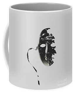 Unmasking In Silence Coffee Mug