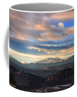 The Unmatched Beauty Of The Colorado Rockies Coffee Mug
