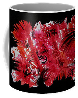 Fire In Forest Coffee Mug