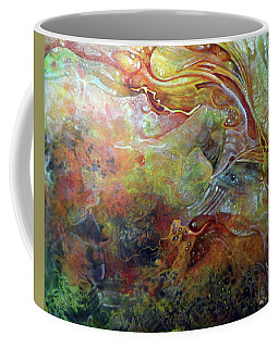 Untitled Abstract Colors 2 - July 2018 Coffee Mug