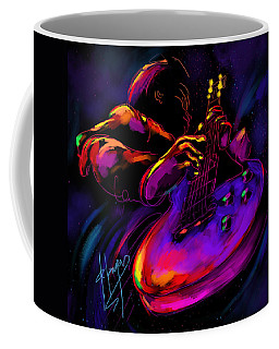 Untitled Guitar Art Coffee Mug