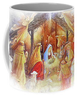 Unto Us A Savior Is Born Coffee Mug