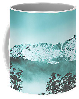 Untouched Winter Peaks Coffee Mug