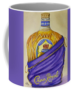 Coffee Mug featuring the painting Unveil The Crown .... Whisky by Kelly Mills