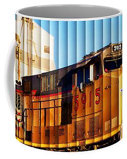 Up 5915 At Track Speed Coffee Mug