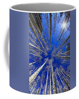 Up Coffee Mug by Alexey Stiop