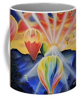 Up And Away Coffee Mug by Dianna Lewis