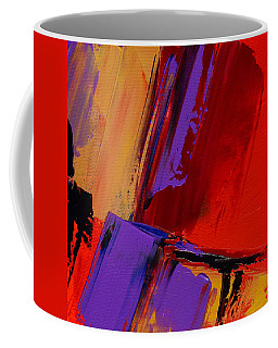 Coffee Mug featuring the painting Up And Down - Art By Elise Palmigiani by Elise Palmigiani