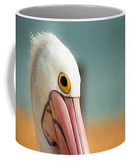 Up Close And Personal With My Pelican Friend Coffee Mug