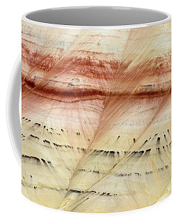 Coffee Mug featuring the photograph Up Close Painted Hills by Greg Nyquist