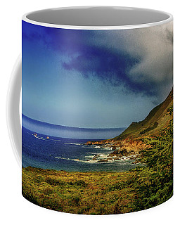 Up Coast Coffee Mug by Joseph Hollingsworth