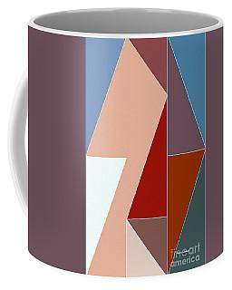 Coffee Mug featuring the digital art Up Hill by Rafael Salazar