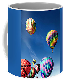 Coffee Mug featuring the photograph Up In A Hot Air Balloon 2 by James Sage