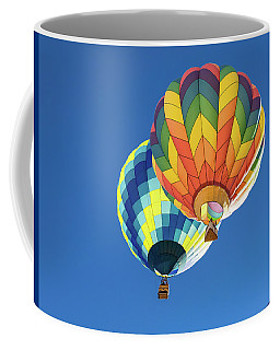 Coffee Mug featuring the photograph Up In A Hot Air Balloon by James Sage