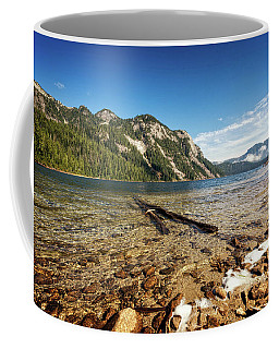 Up In The Mountains Coffee Mug by Sabine Edrissi