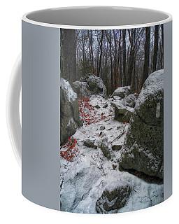 Up Moneyhole Mountain 2 Coffee Mug by Raymond Salani III