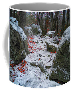 Up Moneyhole Mountain  Coffee Mug