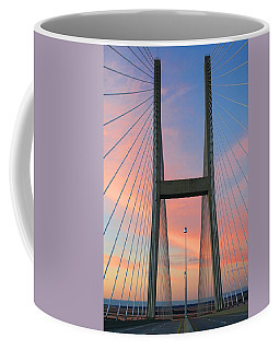 Up On The Bridge Coffee Mug by Kathryn Meyer