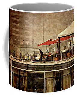 Coffee Mug featuring the photograph Up On The Roof - Miraflores Peru by Mary Machare