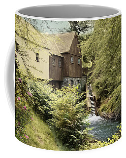 Coffee Mug featuring the photograph Up Stream by Robin-Lee Vieira