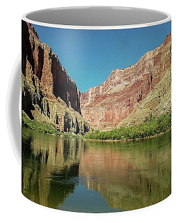 Up The  Colorado River From Littlle Nankoweap Beach Coffee Mug
