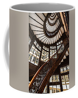 Up The Iconic Rookery Building Staircase Coffee Mug