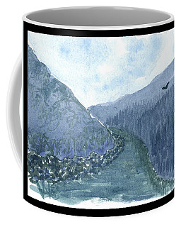 Up The River Coffee Mug