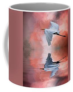 Up. Up And Away Coffee Mug by Cyndy Doty