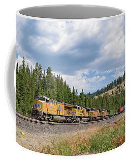 Up2650 Westbound From Donner Pass Coffee Mug