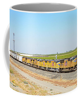 Coffee Mug featuring the photograph Up4912 by Jim Thompson