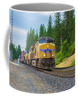 Coffee Mug featuring the photograph Up5698 by Jim Thompson