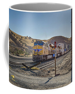 Coffee Mug featuring the photograph Up7472 by Jim Thompson