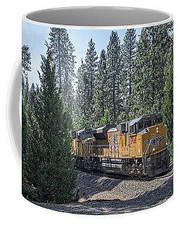 Coffee Mug featuring the photograph Up8968 by Jim Thompson
