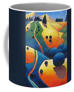 Uphill Climb Revisited. Coffee Mug