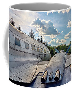 Coffee Mug featuring the photograph Uplift by Tgchan