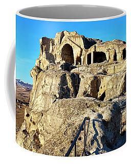 Coffee Mug featuring the photograph Uplistsikhe by Fabrizio Troiani