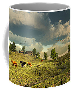 Upon The Rural Seas Coffee Mug