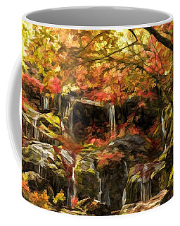 Upper Catawba Falls North Carolina Coffee Mug