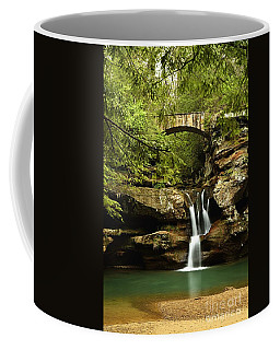Upper Falls, Hocking Hills State Park Coffee Mug
